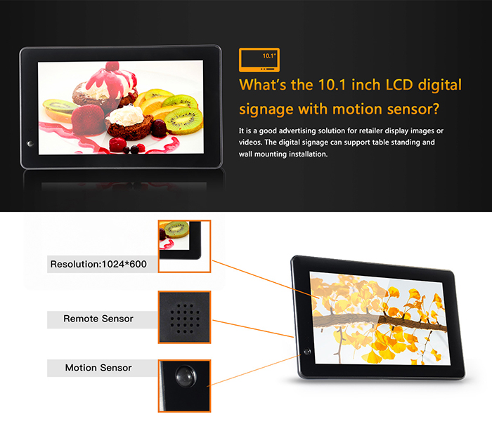10 inch lcd display