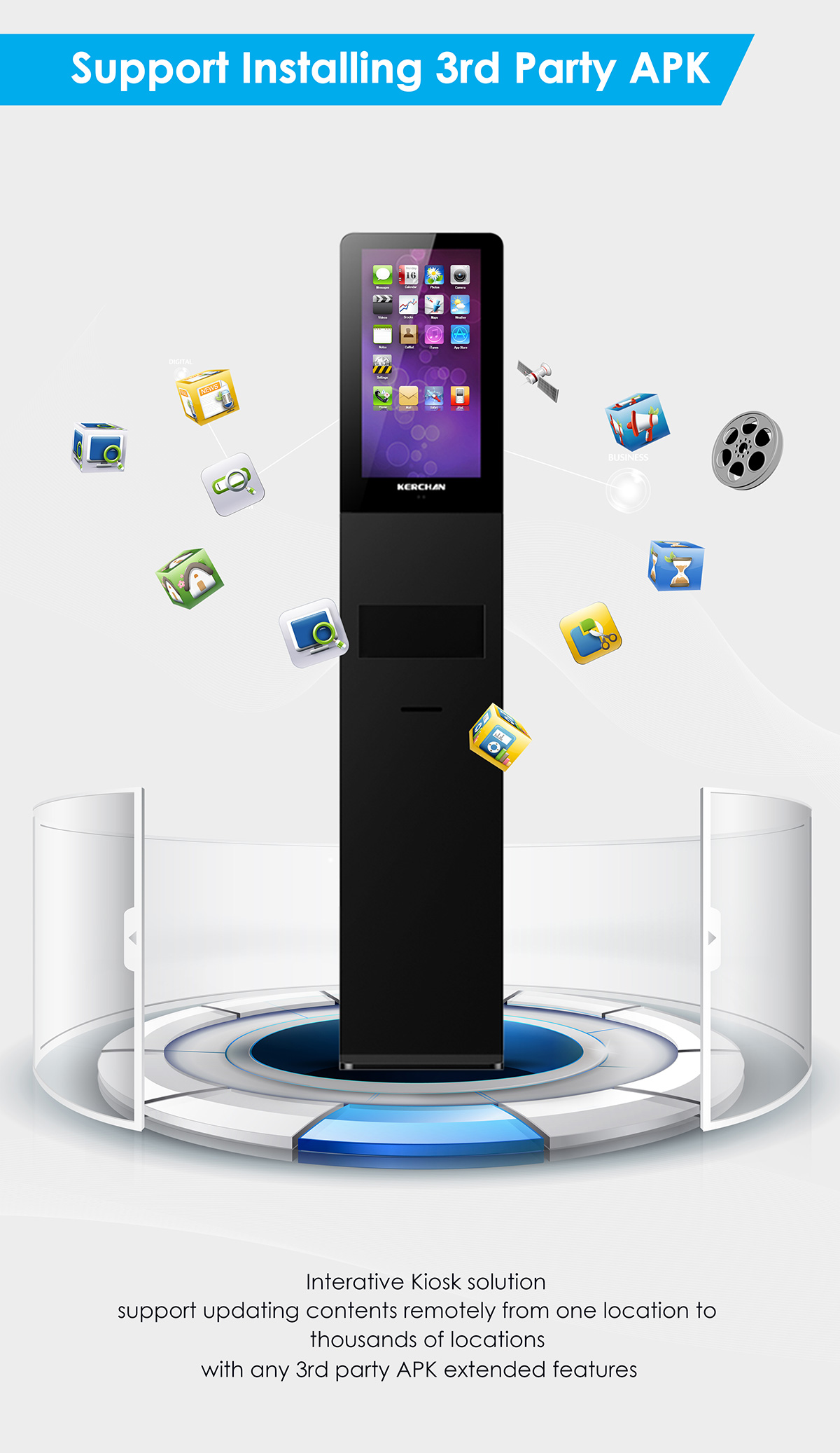 21 5inch Digital Signage With Wifi Kiosk Which Is