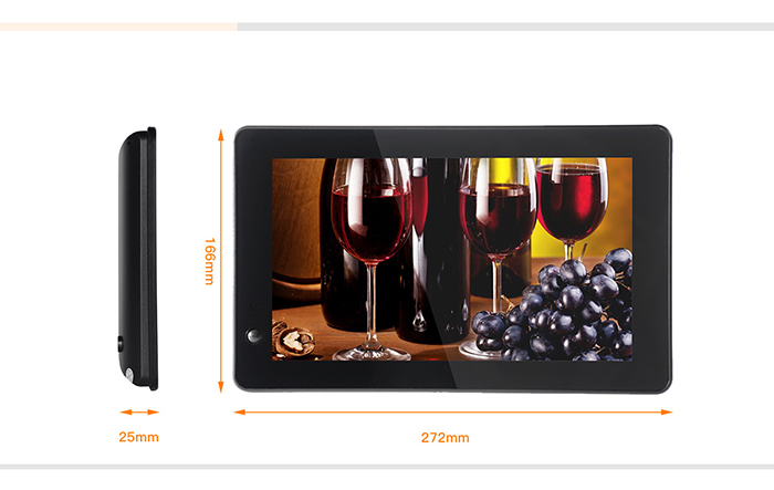 10 inch lcd video display