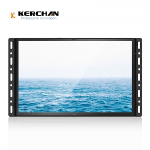 10 inch TFT panel lcd motion sensor advertising video media player for Super Mall