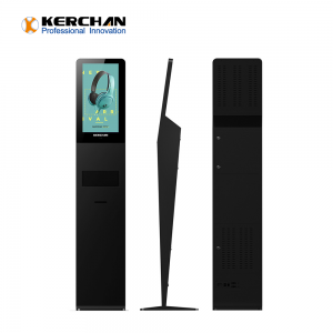 Kerchan 1080p automatic sanitizer dispenser lcd screen for new business