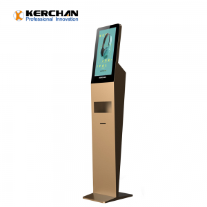 Kerchan 1080p automatic soap dispenser lcd video screen digital board