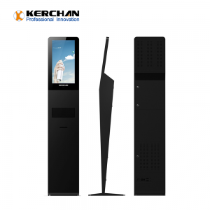 Kerchan 1080p foam liquid dispenser with digital signage android media player