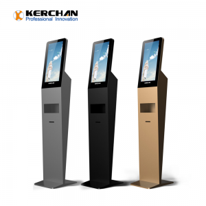 Kerchan  1080p foam sanitizing dispenser with indoor android digital signage