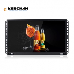 Kerchan 15 inch lcd touch panel with lcd advertising board