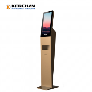 Kerchan 2020 New Product foam soap dispenser kiosk with Touchless Automatic Sensor Foaming Liquid Soap Dispenser