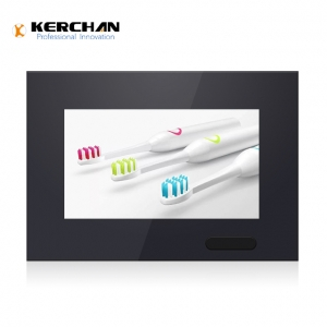 Kerchan 7 inch wall mounted advertising display with LCD mounted advertising display