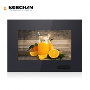 Kerchan 7 lcd advertising player  with media player