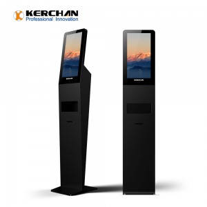 Kerchan Digital Signage soap dispenser screen with 1080p auto foam liquid dispenser