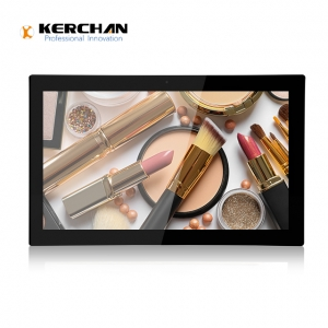 Kerchan battery powered display screen for goods shelf