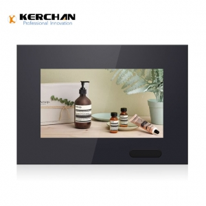 Kerchan battery powered screen with china update media player 7 inch