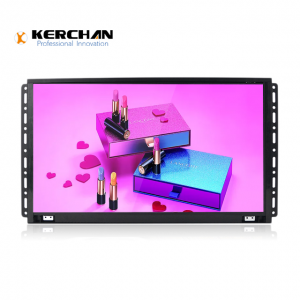 Kerchan commercial led display screen with LCD display screen for commercial environment