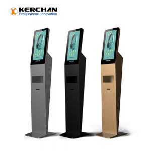 Kerchan digital signage android tablet 1080p automatic soap sanitizing