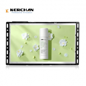 Kerchan lcd ad display with digital signage media player