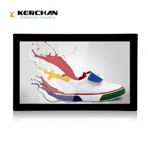 Kerchan lcd advertising player for instore promotion with advertising player