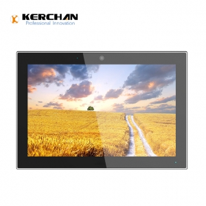 Kerchan lcd retail display screen powered by batteries