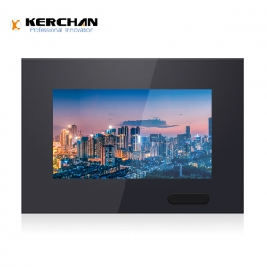 Kerchan media player battery powered screen 7lcd advertising player
