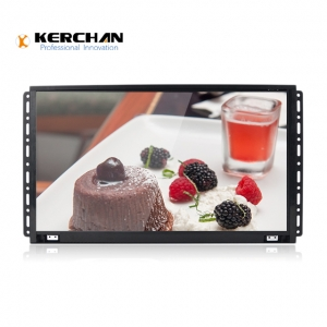 Kerchan media player with advertising lcd player