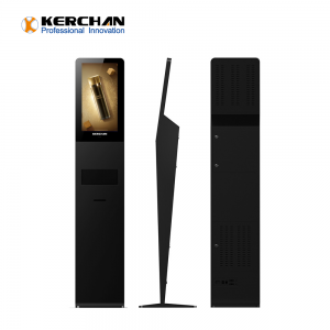 Kerchan new arrived 1080p auto soap foam dispenser Android Digital Signage Player Digital Signage With Hand Sanitizers Dispenser