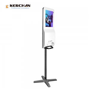 Kerchan patent product 1080p automatic liquid foam dispenser for airport