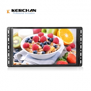 Kerchan pop lcd display with LCD ad display for POP display