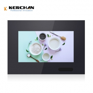 Kerchan small lcd video display with POP instore video screen