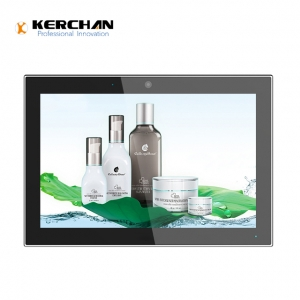 Kerchan touch screen advertising player with touch screen tablet