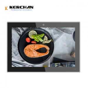 Kerchan touch screen android tv box with LCD Advertising Screen wholesales