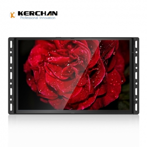 SAD1030K mini lcd monitor open frame design for POP installation media playe loop video