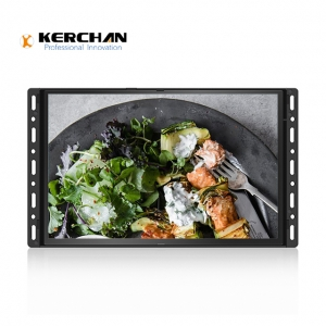Kerchan media player 10.1 Inch Open Frame HD LCD Advertising Video Screen