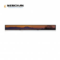 SAD2301KL Kerchan 23.1 inch Stretched Bar LCD Display Closed Frame Panel Indoor Video Player