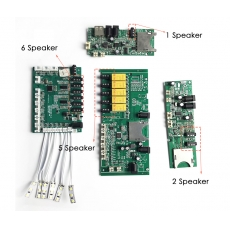 China Audio Board Audio players sound device for headphone headsets earphone speaker factory