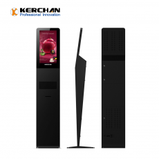 Кита Kerchan 1080p sanitizer dispenser with 22inch digital signage with infrared temperature measurement device завод