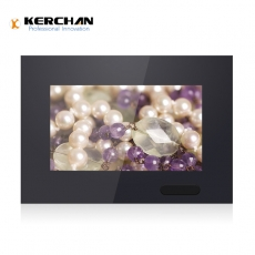 Kerchan 7 lcd video monitor with China battery operated display