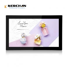 中国Kerchan hdmi industrial monitor with free CMS system工厂