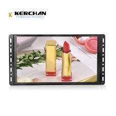 Kerchan lcd retail display screen with push button with display
