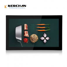 中国Kerchan push button with display with indoor advertising display工厂