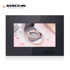 Kerchan touch screen advertising player with lcd retail display screen