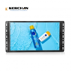 Kerchan wall mounted advertising display with touch screen advertising player
