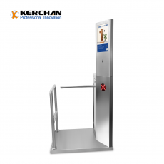 中国SAD1560ZJ Access Control Turnstile Gate With Infrared Body Temperature check system工厂