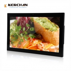 China 21,5 Zoll Android All-in-One-Tablet-Wandhalterung-Videoplayer-Fabrik