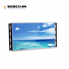 China SAD2380KD support 3rd party APK digital panel full view angle Advertising Media Screen company