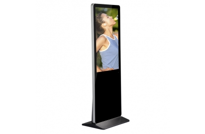 Why shopping malls choose vertical lcd advertising displays?