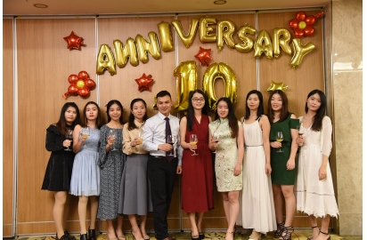 China Kerchan 10th Anniversary company
