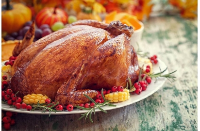 China US Thanksgiving dinner price slightly down company
