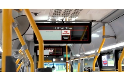 China LCD screens coming to over 500 buses on the TTC company