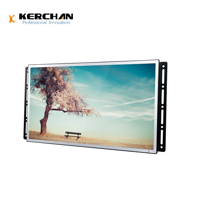 27 Inch Instore Network Android Full HD LCD Advertising Player Kiosk